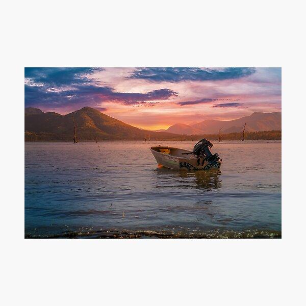 Another beautiful sunset at Lake Moogerah Photographic Print