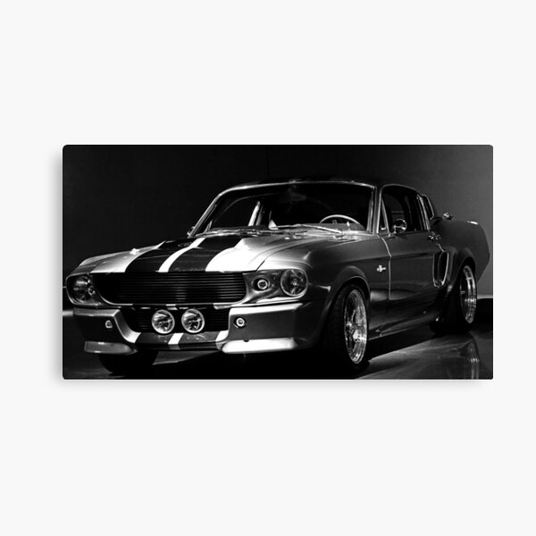 1967 Ford Mustang Shelby GT 500 Canvas Print