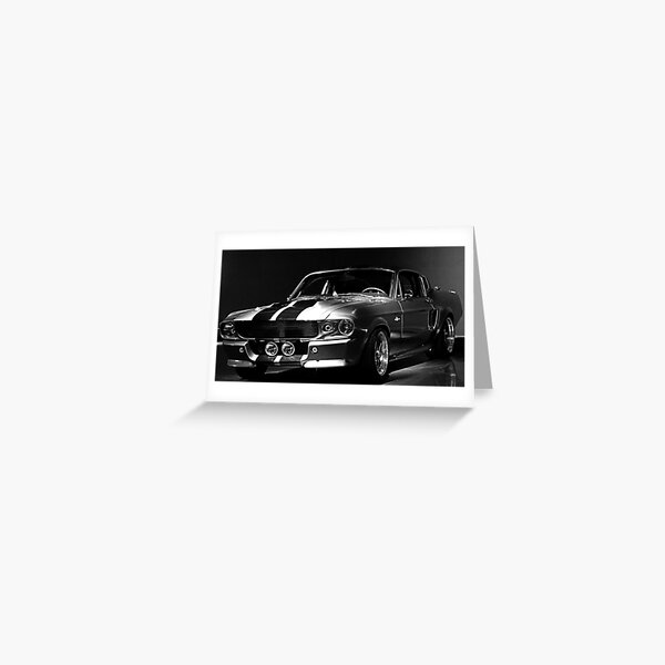 1967 Ford Mustang Shelby GT 500 Greeting Card