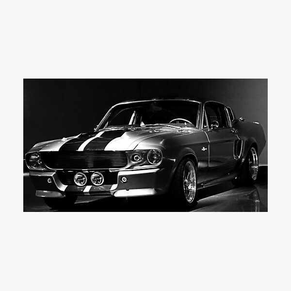 1967 Ford Mustang Shelby GT 500 Photographic Print