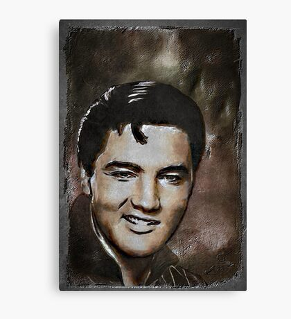 ELVIS.... Canvas Print