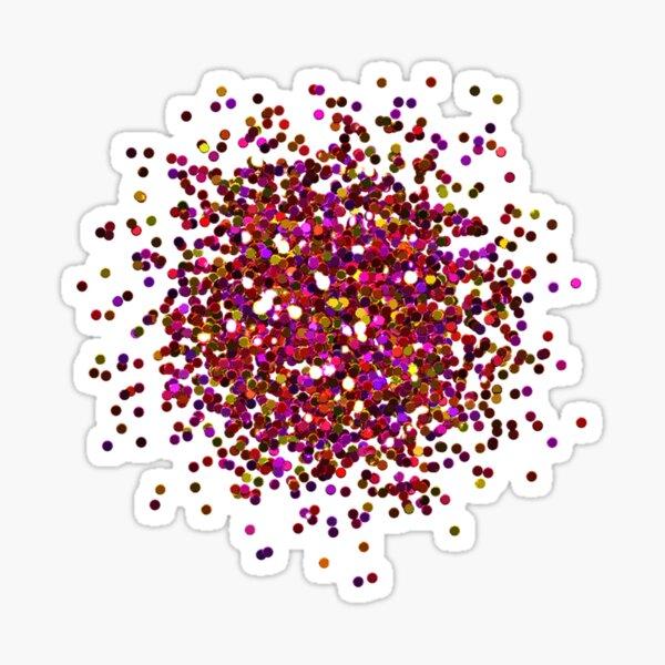 Glitter Burst Sticker