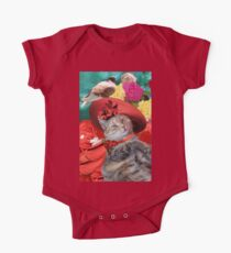 PRINCESS TATUS CAT,RED HAT AND PIGEON  One Piece - Short Sleeve