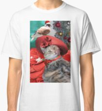 CHRISTMAS CELEBRATIONS OF PRINCESS TATUS CAT Classic T-Shirt