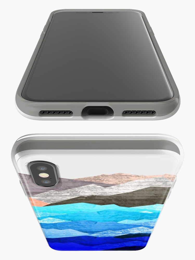 Alternate view of The mountains and the sea  iPhone Case & Cover