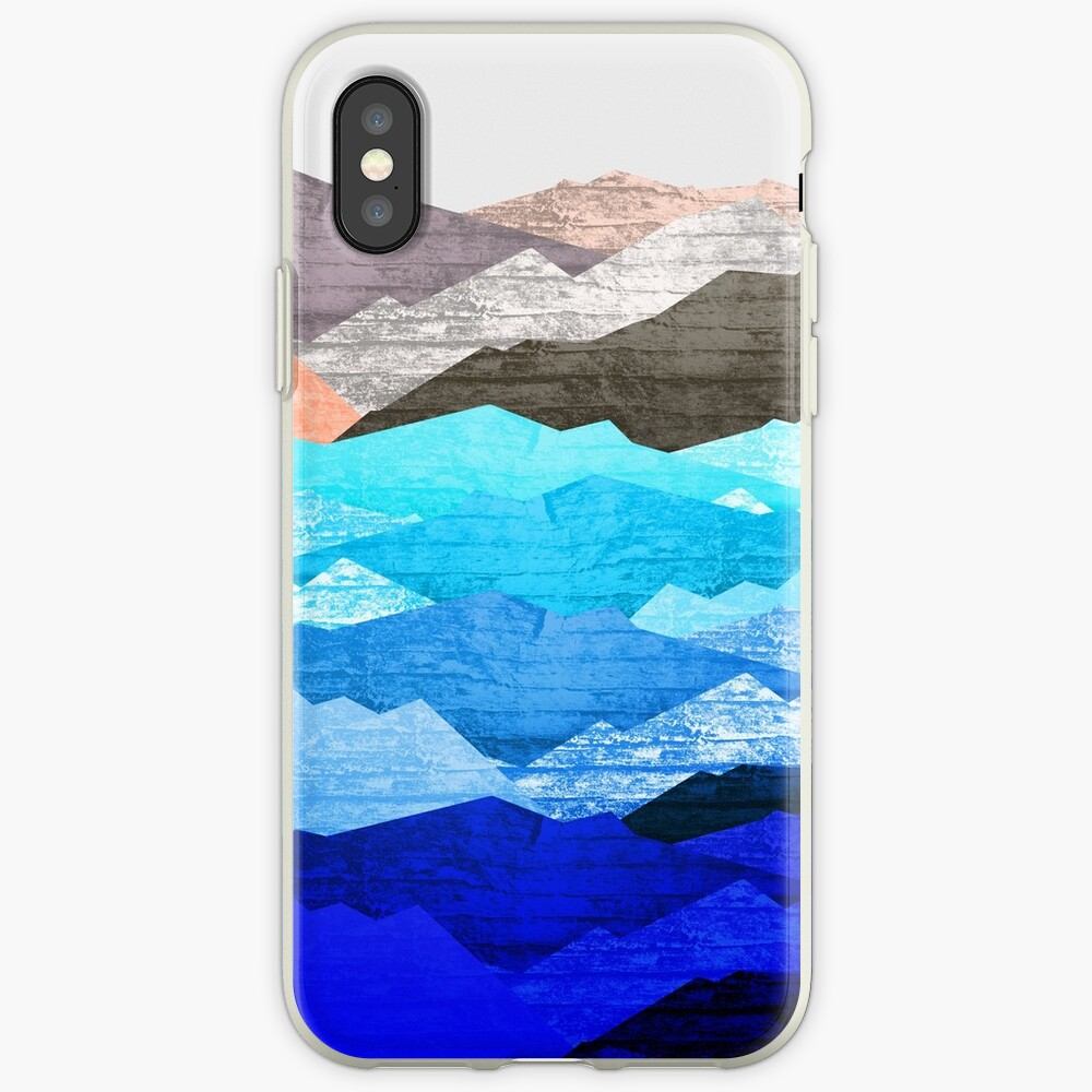 The mountains and the sea  iPhone Case & Cover