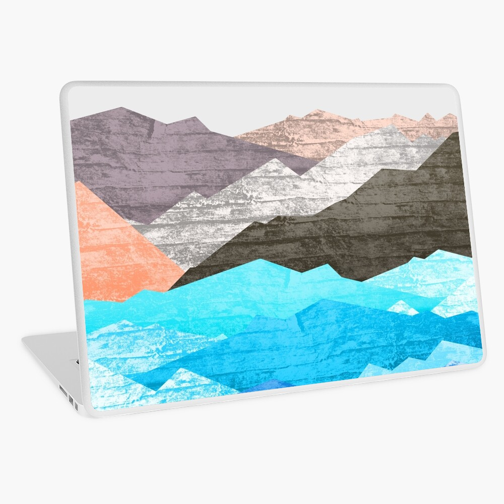 The mountains and the sea  Laptop Skin
