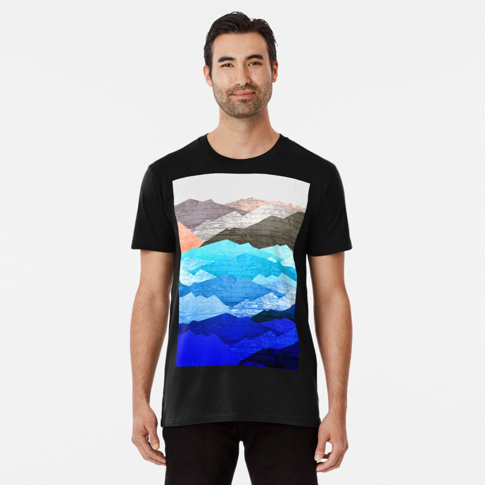 The mountains and the sea  Premium T-Shirt