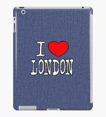 Ich liebe London iPad-Hülle & Klebefolie