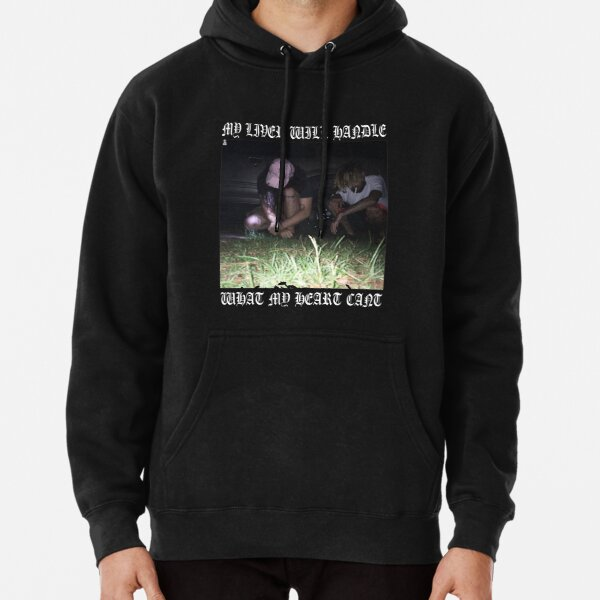 $uicideboy$ MY LIVER WILL HANDLE WHAT MY HEART CANT (white)  Pullover Hoodie