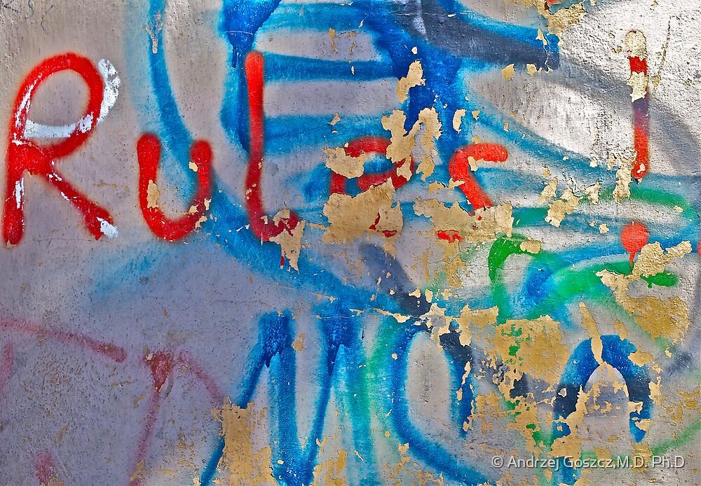 Graffiti . BROWN SUGAR . Views: 727 . thank you friends !!! by © Andrzej Goszcz,M.D. Ph.D