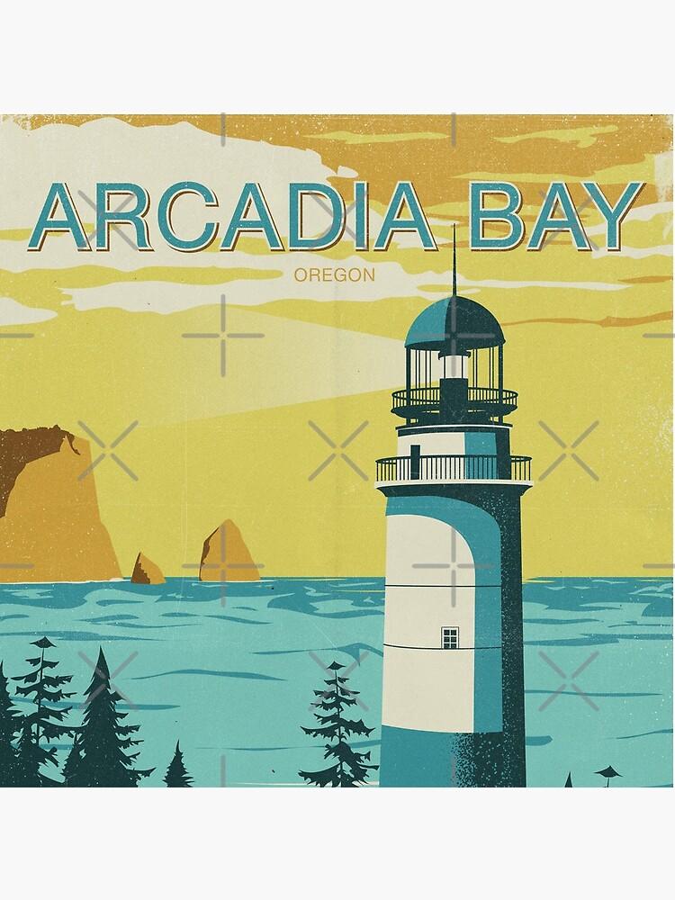 Arcadia Bay - Vintage Tourism Poster by BenClark