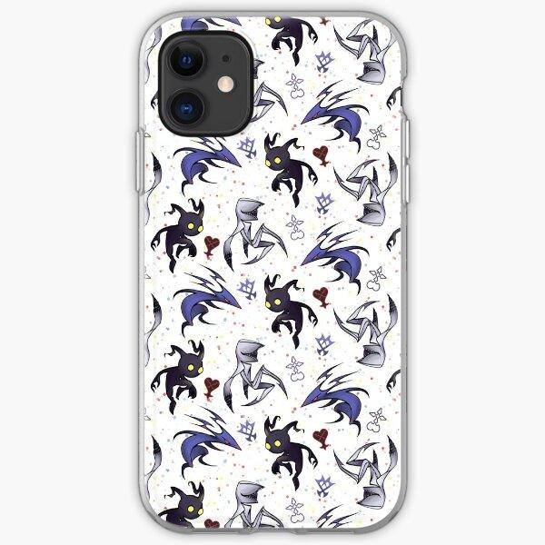 Kingdom Hearts Enemies iPhone Soft Case