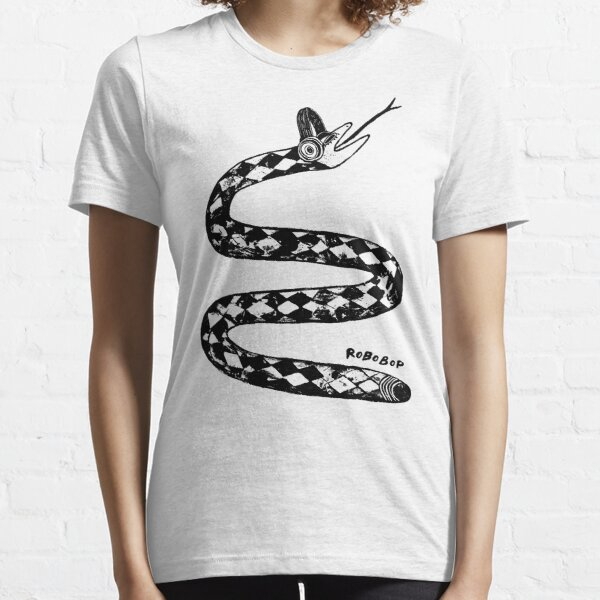 Snake Listening to Music With Headphones Essential T-Shirt