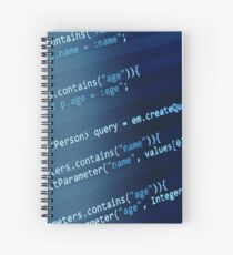 Programming Code Spiral Notebook