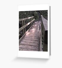 Pathways 1 Greeting Card