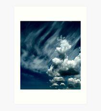 Cloud Bust Art Print