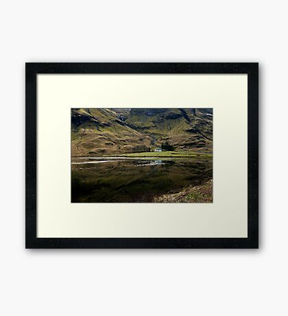 Home on the Loch! Framed Print