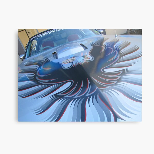 Riviera Visual - FireBird Metal Print