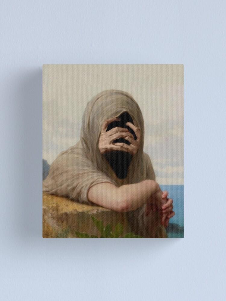 Alternate view of REMORSE Canvas Print