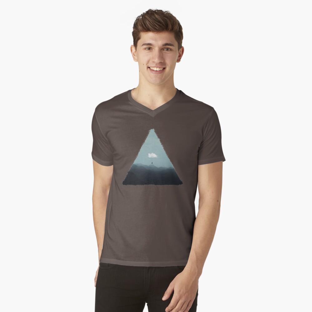Cloud Gliding V-Neck T-Shirt