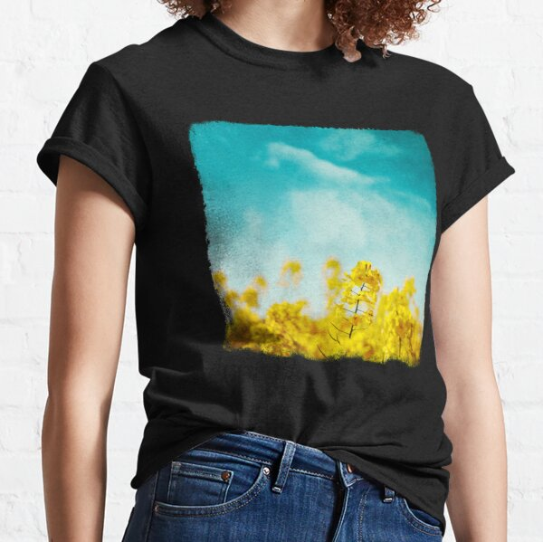 Spring Time - Blooming Rapeseed flowers Classic T-Shirt