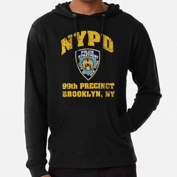 99th Precinct Brooklyn NY Lightweight Hoodie