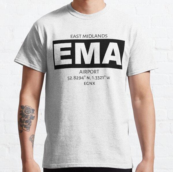 East Midlands Airport EMA Classic T-Shirt
