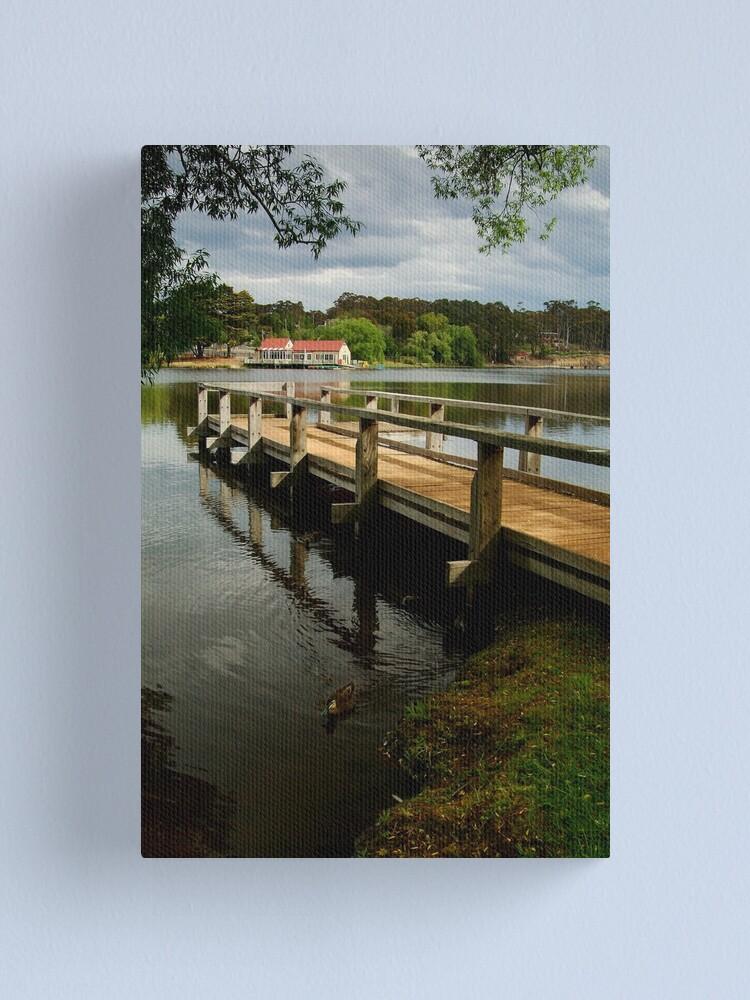 Alternate view of Lake Daylesford Canvas Print
