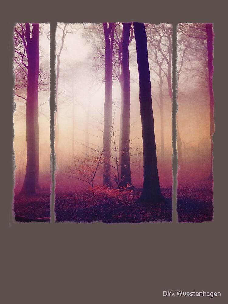Mysts - Forest in Winter Fog by DyrkWyst