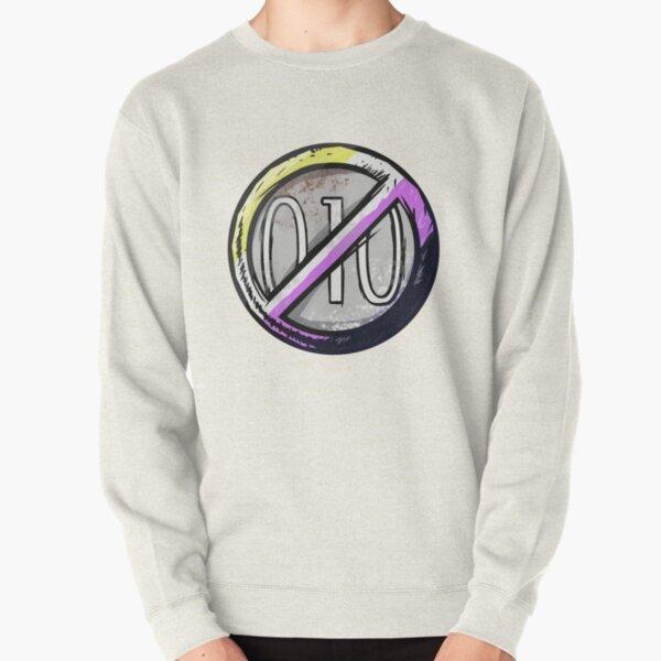 Non Binary Flack Badge Pullover Sweatshirt