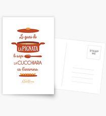 Li Guai Di La Pignata Postcards