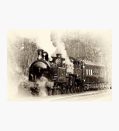 Vintage Steam Photographic Print