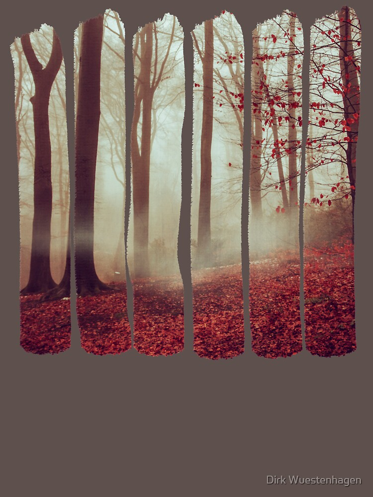 Late Autumn Forest by DyrkWyst