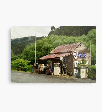 Wood's Point Service Station Metal Print