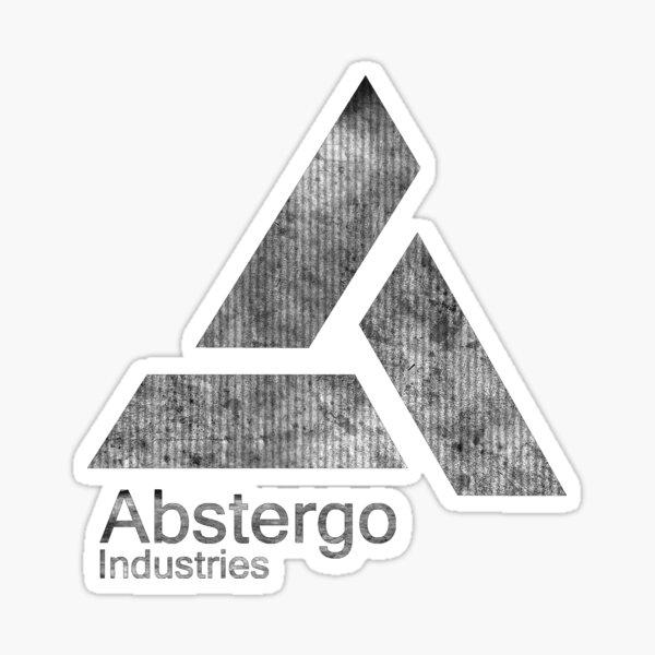 -GAMING- Abstergo B&W Logo Sticker