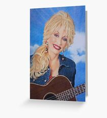 Dolly Parton fan art Greeting Card