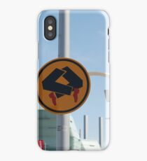 0838 Pedestrians doing quick step iPhone Case/Skin