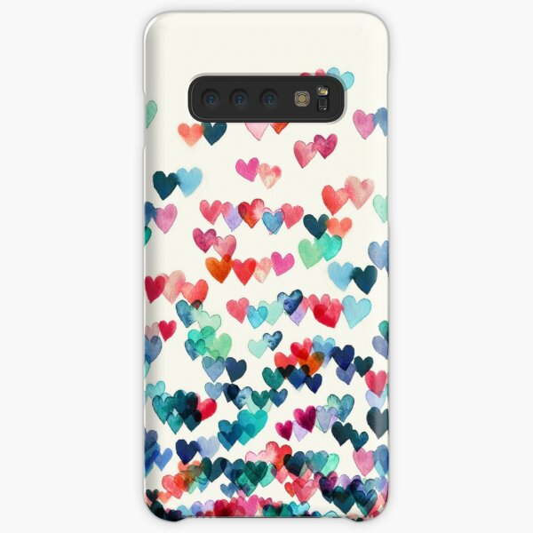 Heart Connections - Watercolor Painting Samsung Galaxy Snap Case