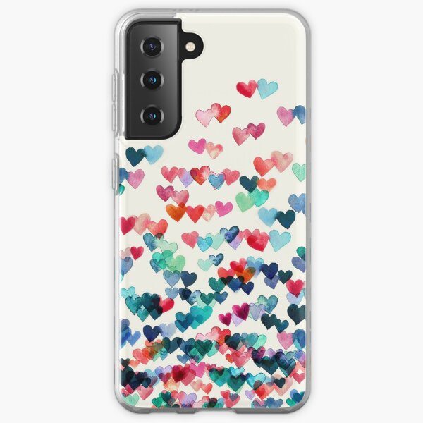 Heart Connections - Watercolor Painting Samsung Galaxy Soft Case
