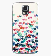 Funda/vinilo para Samsung Galaxy Conexiones del corazón - Acuarela