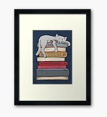 How to Chill Like a Cat Framed Print