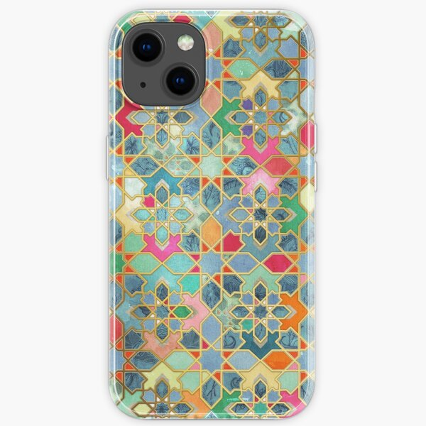 Gilt & Glory - Colorful Moroccan Mosaic iPhone Soft Case