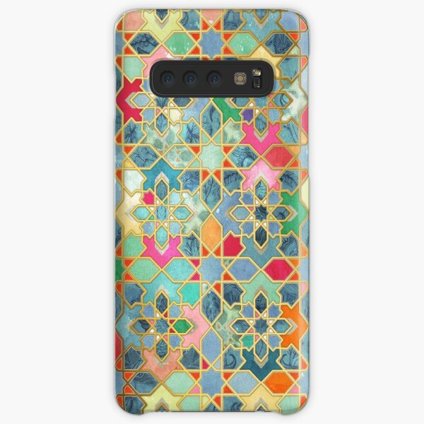 Gilt & Glory - Colorful Moroccan Mosaic Samsung Galaxy Snap Case