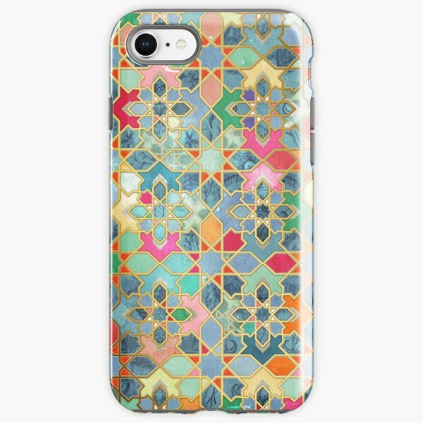 Gilt & Glory - Colorful Moroccan Mosaic iPhone Tough Case