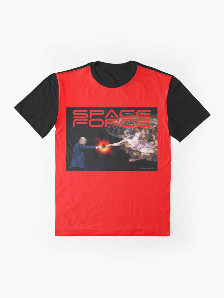 Alternate view of Space Forces Graphic T-Shirt