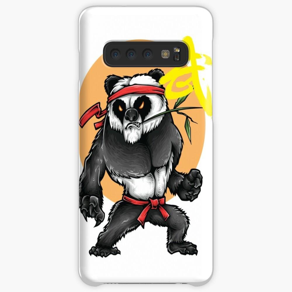 Kung Fu Chinesische Kampfkünste Wushu Quanfa Hülle & Klebefolie für Samsung Galaxy