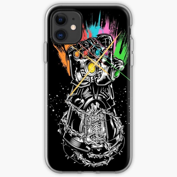 Infinity Gauntlet iPhone Soft Case