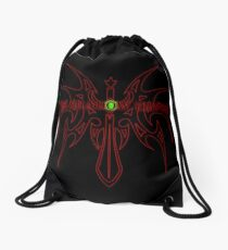 The Shadow Empire Hangrius Red Drawstring Bag
