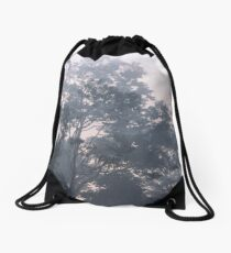 The mysteries of the morning mist Drawstring Bag